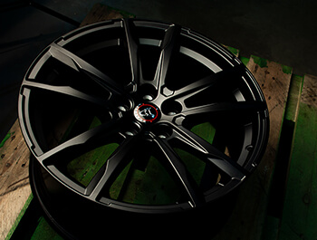 Wolfrace Dortmund Matte Black 19in Wheel & Tyre Set - VW T5 T6