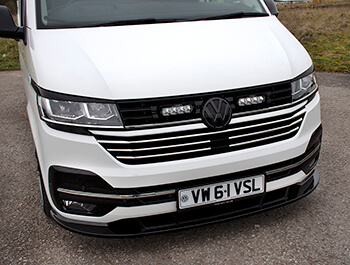 Polished Stainless Steel 5 Piece Grille Trims - VW T6.1 19>