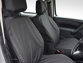 100% Waterproof Tailored Black Seat Covers- Mercedes Citan 2013>