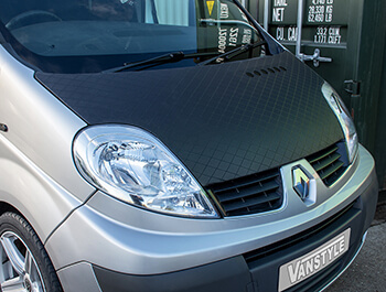 Diamond Effect Full Length Bonnet Bra Vivaro, Trafic, Primastar