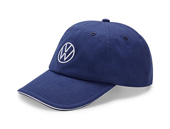 Genuine VW Dark Blue Cap - One Size