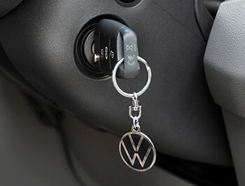 Genuine New VW Logo Key Ring 30mm