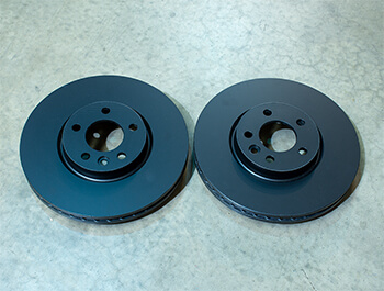 EBC OE-Replacement Front Brake Discs - 340mm Standard - VW T5 T6