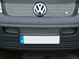 Zunsport Stainless Steel Lower Radiator Grille, 2003-09