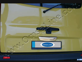 Stainless Steel Tailgate Handle Cover Renault Trafic 2001-14