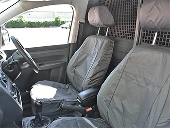 Genuine Volkswagen Seat Cover w/Armrests - VW Caddy/Maxi 10-15