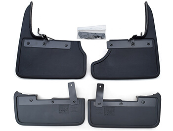 Genuine VW T6 T6.1 15> Front & Rear Mud Flap Sets