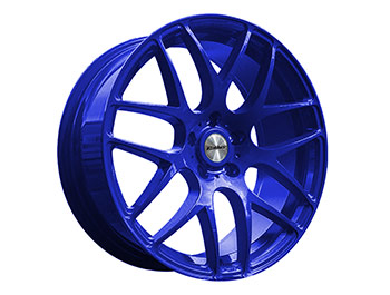 "Calibre Exile-R Sparkling Blue 20"" VW T5 T6 Wheel & Tyre"