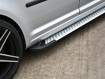 Rufford Style Aluminium Side Steps - Ford Connect 2003>2014