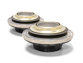Genuine VW Top Mount & Bearing Set (Pair) - VW T5 T6 03>