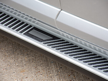 Sherwood Style Aluminium Side Step - Citroen Dispatch MEDIUM 16>