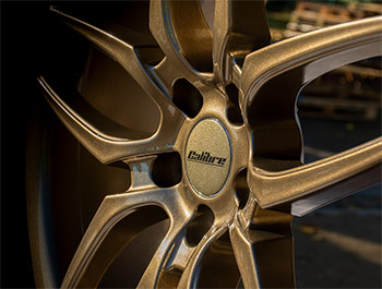 Calibre CC-U 20in 9J Gloss Bronze - VW T5 T6 Alloy Wheel Set