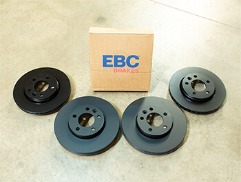 EBC OE-Replacement Brake Discs - 308mm 294mm Standard - VW T5 T6