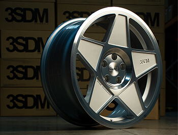 "3SDM 0.05 Silver Cut - 19"" Alloy Wheels - VW Caddy 04>"