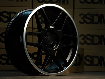 "3SDM 0.09 Matte Black - 19"" Alloy Wheels - VW Caddy 04>"