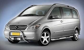 Cobra EU Approved Front A-Bar - Mercedes Vito 03-10