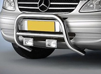 Vanstyle Replacement Front Protection A-Bar - Vito/Viano 2003-