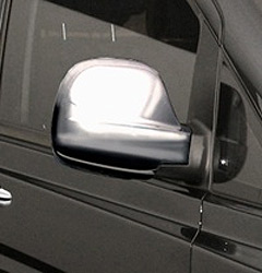 Stainless Steel Mirror Covers Mercedes Vito 03-10