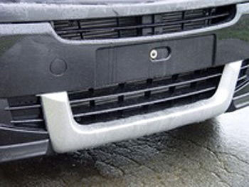 Soft Front Bumper Guard Vivaro 2006-09