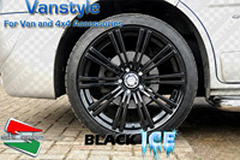 SR1200 Wheel 16x7 Black Ice Set of 4 - Ford Galaxy