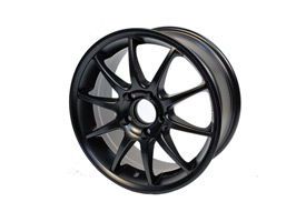 "SR500 Matt Black Sport, 7 x 16"", Set Of 4, VW Sharan"