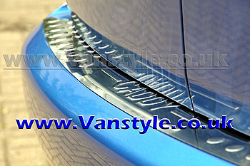 Rear Bumper Protector Cover S/S - VW Caddy 04-10 & 2010>