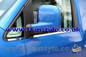 Window Frame Trim Set (4 Pieces) Stainless Steel VW Caddy