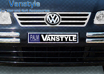 Stainless Steel Radiator Grille Kit - VW Caddy 04-10
