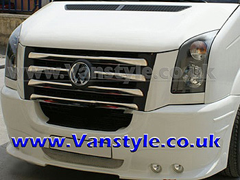 VW Crafter Stainless Steel Front Grille (Set 5) 06-11