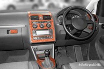 Dash Kit 12pc VW Touran (Manual), DIN-Radio or Navigation RHD