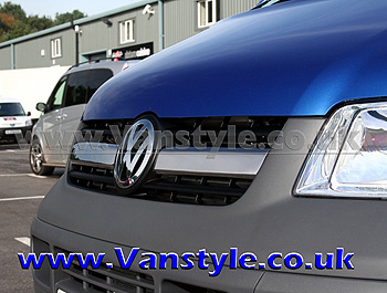 Twin Piece Limo-Grille Upgrade VW T5 Transporter 2003-09