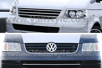 SportMAX Headlight Brows GRP Unpainted VW T5 2003-09