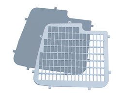 Vauxhall Combo Van 2001-on- Rear Security Window Grilles