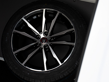 Wolfrace Dortmund Black & Polished 18in Alloy Wheels - VW T5 T6