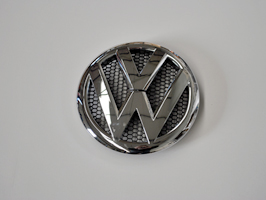 VW T5 Replacement Front Badge Chrome or Black 2010>