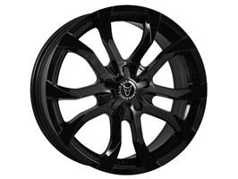 "Wolfrace Assassin Gloss Black 8x18"" Wheel Package Vito"