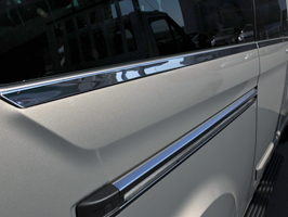 Ford Transit Custom Stainless Steel Window Trims 8pcs