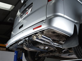 Milltek VW T5 LWB - Twin Tail Pipe Exhaust System