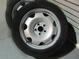 Genuine OE Steel Wheels VW T5 T6 235/55 Winter Tyre Package
