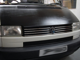 VW T4 Transporter Caravelle Stainless Steel Front Grille