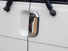 Stainless Steel Door Handle Covers VW T4 Transporter Caravelle