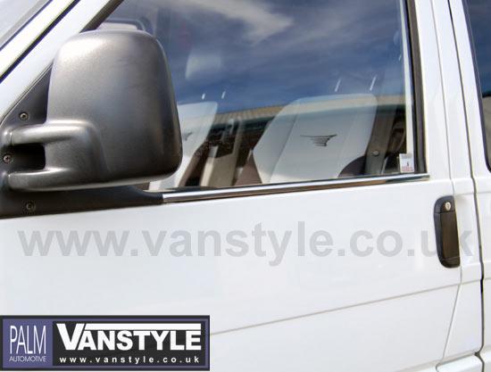 Stainless Steel Window Trims Volkswagen VW T4 90-03