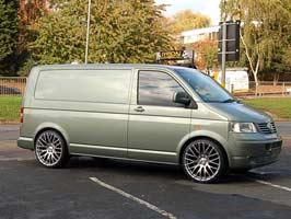 """Calibre Altus Matt Silver Polished 20"""" 5x120 VW T5 03-09 & 2010>"""
