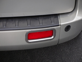Ford Transit Custom Stainless Steel Reflector Surrounds 2012>