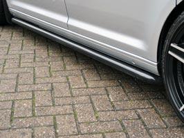 Vanstyle Sport 50mm Satin Black Sidebars VW Caddy SWB 04>