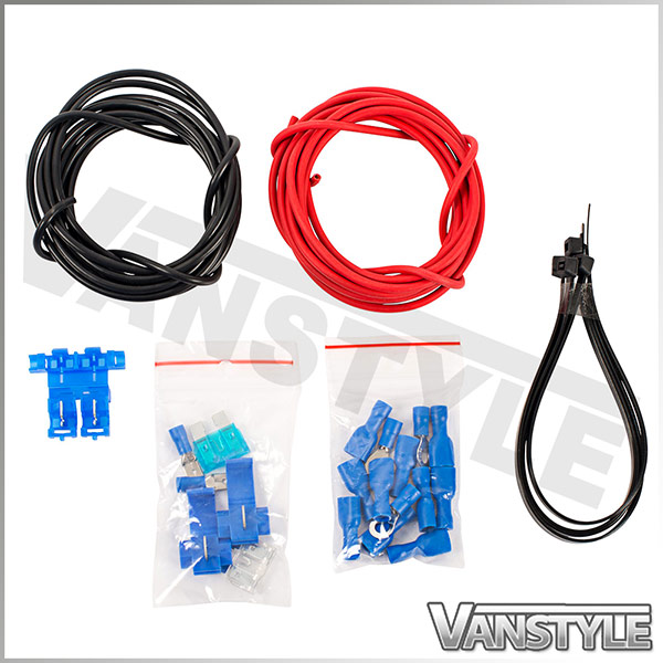 Wiring Harness Jobs Uk : Car van relay additional wiring harness kit v fuse