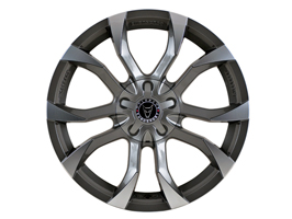 "Wolfrace Assassin Gunmetal & Polished 20"" Package VW Amarok"