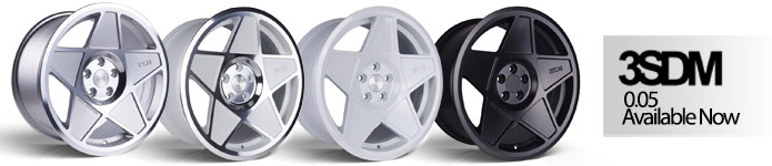 Now Stocking 3SDM Alloy Wheels