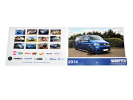 Vanstyle 2014 Wall Calendar