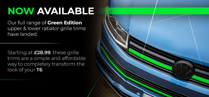 T6 Green Edition Front Grille Trim Sets